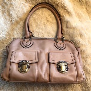 Classic Marc Jacobs Leather Tote Bag